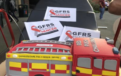 Gloucestershire Firefighters Complete Epic Bed Push Charity Challenge