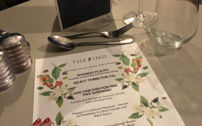 Supper Sharing Plates at The Find Cheltenham – A Lady Janey Review