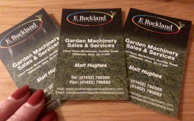 Saturday Spotlight – Buckland Garden Machinery