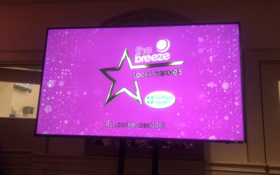 Inspired: The Breeze Local Heroes Awards 2019 at Manor By The Lake