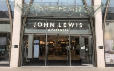 Personal Styling and Makeover at John Lewis & Partners Cheltenham with lunch at Huffkins: A Lady Janey Review