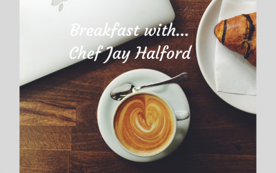 Breakfast with Jay Halford, Chef and Owner of NR Social Cheltenham
