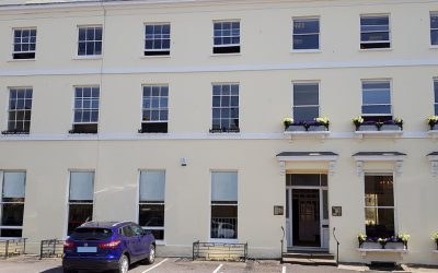Happy 1st Birthday Harley House Cheltenham, an Inigo Business Centre