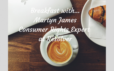 Breakfast with Martyn James Consumer Rights Expert at Resolver