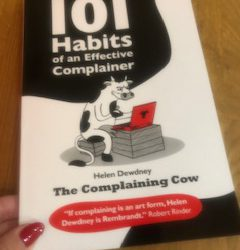 Review: 101 Habits of an Effective Complainer by Helen Dewdney The Complaining Cow