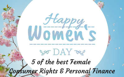 5 of the best Female UK Consumer Rights and Personal Finance Experts