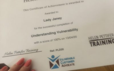 Review: Understanding Vulnerability Online Course by Helen Pettifer Training