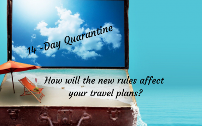 How will the new 14-day quarantine rules affect your travel plans?