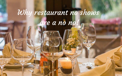 Why no shows are a no no if we want restaurants to survive