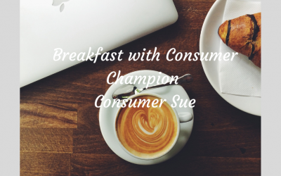 Breakfast with Consumer Champion Consumer Sue